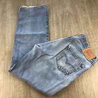 Vintage Levis 501 Jeans Mens Size 36 x 34 100% Cotton Button Fly Denim