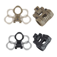 25mm 5 Position Light Mount For Hunting Airsoft Flashlight Picatinny 20mm Rail