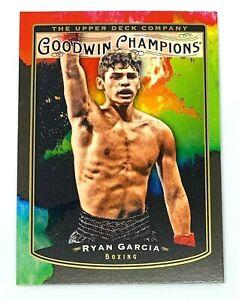Ryan Garcia 2019 UD Goodwin Champions Splash of Color SP #104 Rookie RC