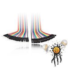 60 IoT Kabel Set 20 x male→male + 20 x female→male + 20 x female→female arduino