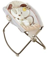 Fisher Price My Little Snugapuppy Deluxe Bouncer infant newborn baby toddler