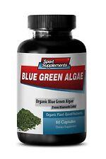 Spirulina Chlorella - Organic Blue Green Algae 500mg - Antioxidant Booster 1B