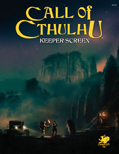 Call of Cthulhu RPG 7th edition Keeper's Screen -  Brand New from Chaosium