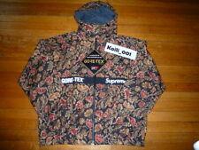 Supreme Gore-Tex Court Jacket Size XL Flower Floral Used Worn FW18 2018 B