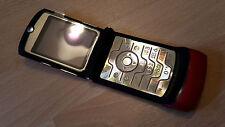Motorola Razr v3 rose/pliable portable/sans simlock/avec film * comme neuf *