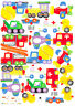 Cute TRANSPORTATION Cars Home Room Wall Mural Decor Stickers decals removable
