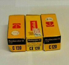 3x Kodacolor CX120 color print films. All expired