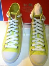 NEW COACH MAISE BRIGHT CITRINE SNEAKERS (Size 8)