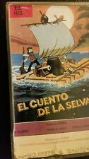 EL CUENTO DE LA SELVA.  RARE SPANISH VIDEO