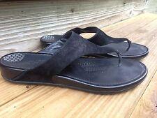 FitFlop FF2 Banda  Black Thong Flip Flop Sandals shoes EU 42 /US 10