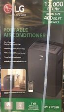 NEW LG Electronics 12,000 BTU Portable Air Conditioner/Dehumid (Blk) LP1217GSR