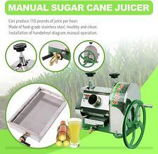 Ridgeyard Sugar Manual Cane Press Juicer Machine Commercial Extractor Mill