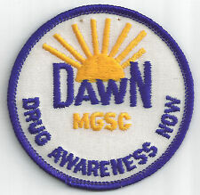 MGSC Girl Scout Patch - DawN - Drug Awareness Now