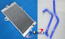 For Yamaha Raptor YFM 700 R YFM700R 06-13 08 09 10 Aluminum Radiator + BLUE hose