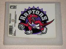 Toronto Raptors NBA Basketball Reusable Static Cling Window Decal Sticker