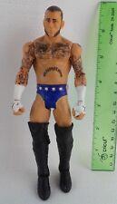 "CM Punk Used Loose 2012 WWE 7""  Figure Mattel"
