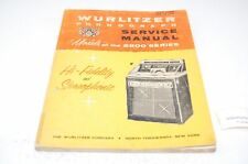 Wurlitzer 2900 Englisch Manual Jukebox (P5254)