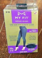 My Fit Denim Jeans ~Fits Size 2-12~ Dark Wash - Item #MJ031112