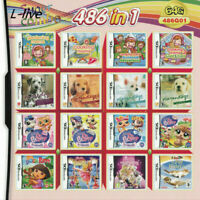 486 in 1 Video Games Multi Cartridge Card For Nintendo DS NDS NDSL NDSi 3DS 2DS