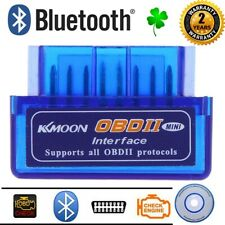 Bluetooth Car Diagnostic Tool ELM327 OBD2 Wireless Android Fault Code Scan
