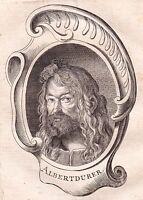 Portrait XVIIIe Albrecht Dürer der Jüngere Nuremberg Nurnberg Peintre Peinture
