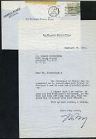 MEXICAN PRESIDENT  AUTOGRAPH   REJECTION 1960 LETTER FROM HUMBERTO PEREZ  COVER