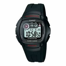 CASIO ILLUMINATOR DIGITAL CHRONO ALARM DUAL TIME LIGHT MEN'S WATCH W-210-1C NEW
