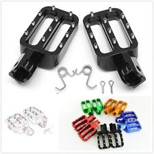CNC Aluminum Motorcycle Bike Foot Pegs Rests Pedals For MX CRF50 XR50 PW50 PW80