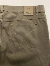 Brax 38 x 32 Feel Good Cooper Fancy Pants Regular Fit Brown Woven 5 Pocket Pants