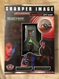Sharper Image Spy Series Flex-View Spy Cam Camera Live Stream LCD Toy Age 8+ NEW