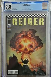 Geiger #1 CGC 9.8 Image Comics Geoff Johns