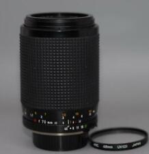 Minolta 70-210mm f4.5-5.6 MD Macro zoom lens for X700 XD11 SRT cameras - Ex++!
