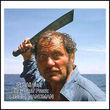 Fridge Fun Refrigerator Magnet JAWS MOVIE Certifiable Quint V: A 70s Retro Funny