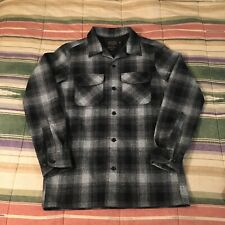 Pendleton The Original Board Shirt Flannel Wool Mens Fitted Small
