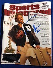 Jay Williams Signed Sports Illustrated Magazine Autographed