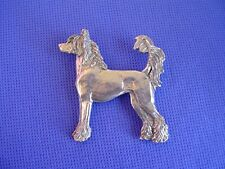 Chinese Crested Hairless pewter pin #22C Toy Dog Jewelry by Cindy A. Conter