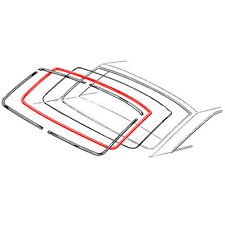 NEW 63-65 Ford Falcon Comet Backglass Weatherstrip