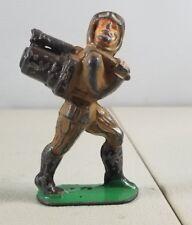 1940'S Barclay Manoil Soldier Lead Soldier Plane Pilot Paratrooper 2. 41A