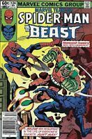 Marvel Team-Up Comic Issue 124 Spider-Man And The Beast Bronze Age 1982 Matteis