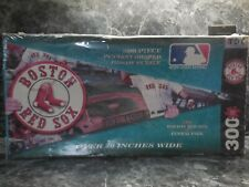 boston red sox 300 piece pennant shaped puzzle/new never opened sealed