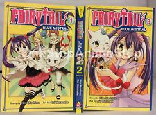 Fairy Tail Blue Mistral volumes 1-3 English Manga Graphic Novels Lot NEW