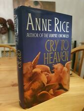 1990 First Edition Anne Rice Cry To Heaven