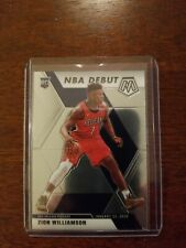 New Listing2019-20 Mosaic Zion Williamson Rc Rookie Nba Debut Pelicans Card #269