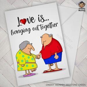 Funny VALENTINE ANNIVERSARY BIRTHDAY CARD Rude wife husband boy girlfriend adult