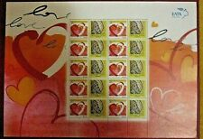Die fullsheet St. Valentino, Lesbos-Mytilini, griechische Briefmarken