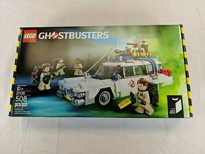 Lego Ideas 21108 Ghostbusters ECTO 1 BRAND NEW AND FACTORY SEALED retired