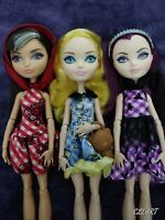 "Ever After High"" Enchanted Picnic ""Cerise Hood/Blondie Locks/Raven Queen/Dolls"