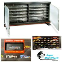 Hot Wheels 2020 Display Case With Exclusive 1955 Chevy Gasser