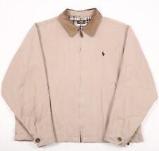 Vintage Polo Jeans Co Ralph Lauren Harrington Jacket | Para Hombre L | Bomber Cable