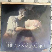 The Glass Menagerie - Laserdisc Unplayed but open